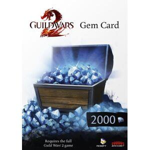 Retail Gem Card 2000 Guild Wars 2 Digital Key Version