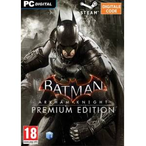 Activision Batman Arkham Knight Premium Edition PC Steam Download CDKey