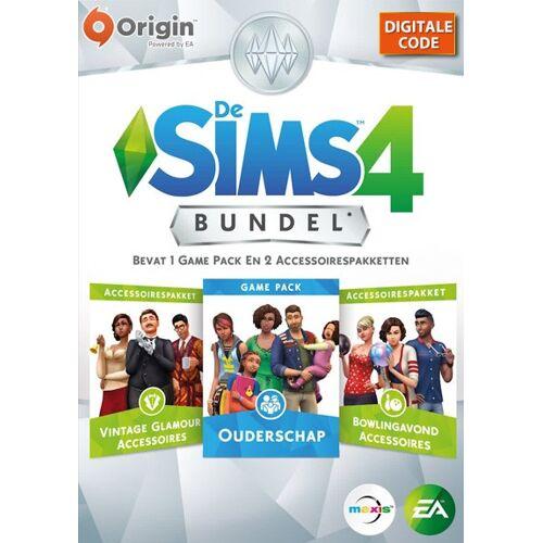 Electronic Arts De Sims 4 Bundel Pakket 5 Ouderschap + 2 Acc. Origin Game Key