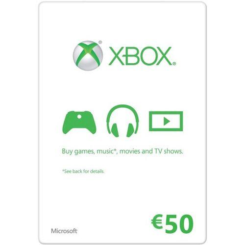 Microsoft Xbox Live €50 Gift Card - Xbox360/XboxOne Key/Code
