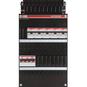 ABB 3 fase groepenkast 5 aardlekautomaten