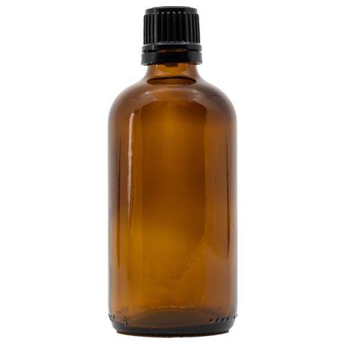 Glazen fles (Bruin)