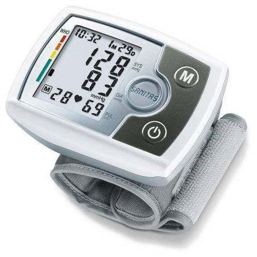 Sanitas polsbloeddrukmeter SBM 03  - 14.99 - wit