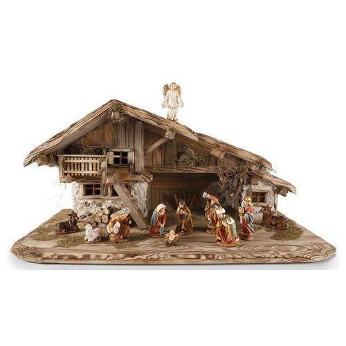 OTTO kribbe Inzell Stal zonder figuren, hxb: 40x80 cm, made in Germany, echt handwerk  - 299.00 - bruin