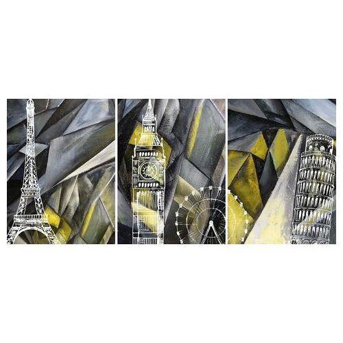 Places of Style artprint op linnen Beroemde gebouw  - 151.99 - multicolor