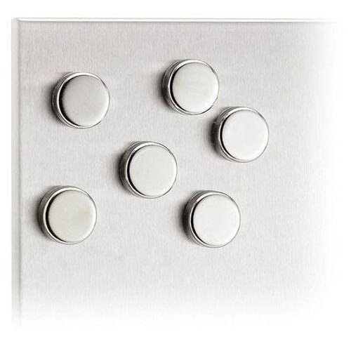 BLOMUS magneet Set van 6 magneten -MURO-  - 12.50 - zilver