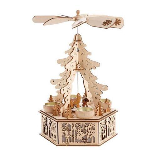 Home affaire Kerstpiramide  - 24.99 - beige - Size: 33 cm