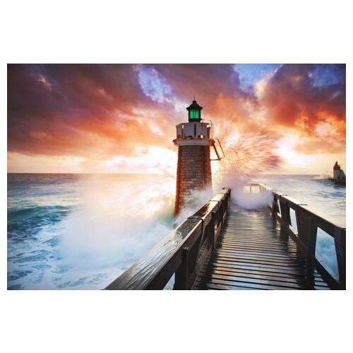 Home affaire fotobehang »Lighthouse«  - 88.99 - oranje