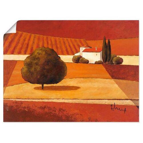 Artland artprint »Mediterrane Kornfelder III«  - 20.99 - rood