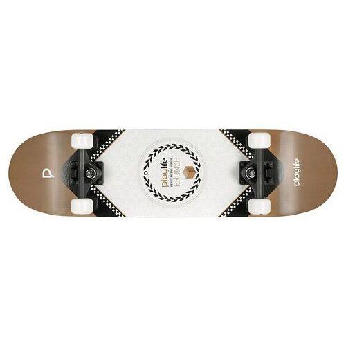 Playlife skateboard Heavy Metal Bronze  - 24.36 - zwart