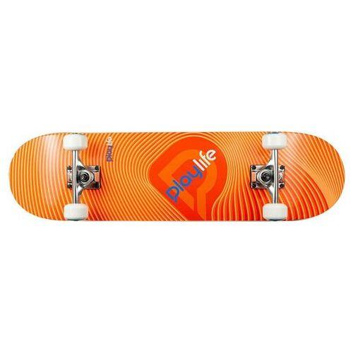 Playlife skateboard Illusion Orange  - 29.23 - zwart