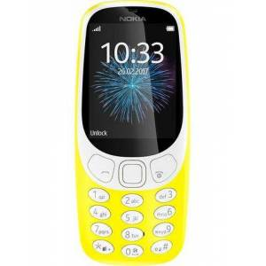 Nokia 3310 retro Dual SIM gsm, 6,1 cm (2,4 inch) display, NOKIA S30+, 2,0 megapixel  - 63.45 - geel
