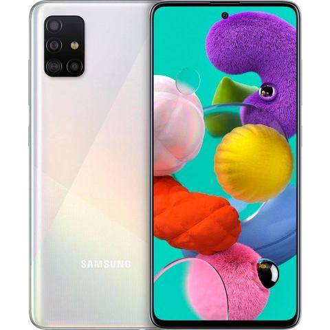 Samsung smartphone Galaxy A51  - 339.00 - wit