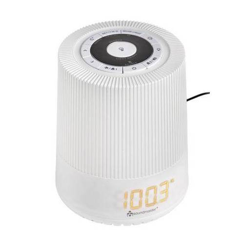 heine LED wekkerradio  - 99.99 - wit
