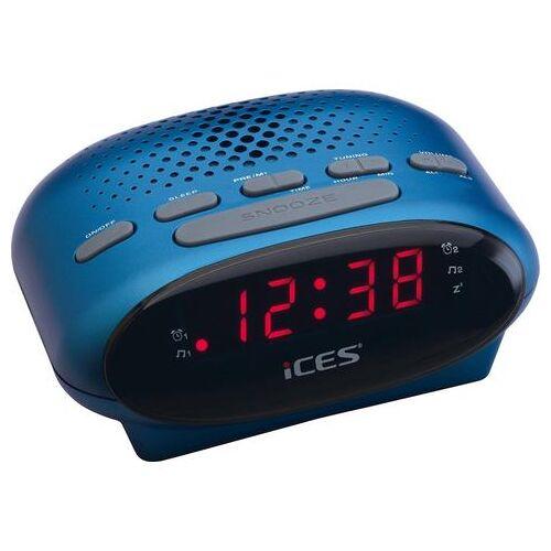 Lenco wekkerradio »iCES ICR-210  - 14.07 - blauw