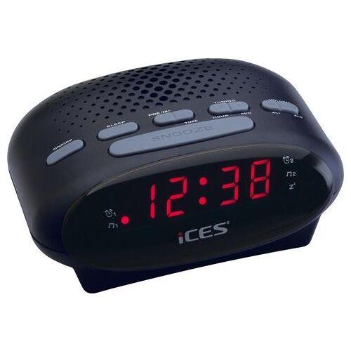 Lenco wekkerradio »iCES ICR-210  - 15.64 - zwart