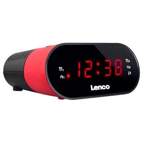 Lenco »CR-07« wekkerradio  - 14.73 - roze