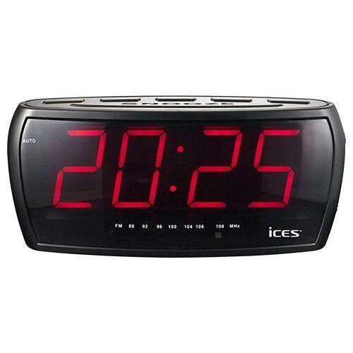 Lenco wekkerradio »iCES ICR-230-1  - 23.46 - zwart
