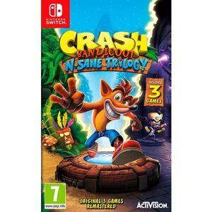 Nintendo Game NINTENDO SWITCH Crash Bandicoot N'Sane Trlogy  - 44.99