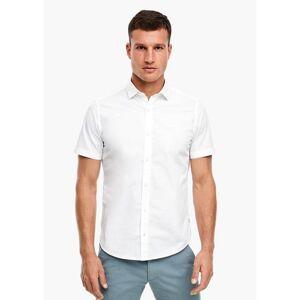 s.Oliver RED LABEL s.Oliver overhemd met korte mouwen  - 28.99 - wit - Size: Large