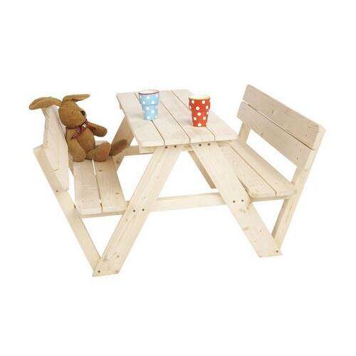 PINOLINO Kinder-picknicktafel Nicki onbehandeld  - 69.99 - beige
