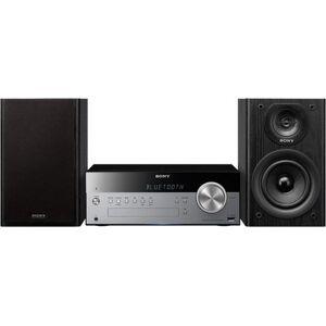 Sony CMT-SBT100 Microset, Bluetooth, NFC, RDS, 1x USB  - 215.05 - zwart