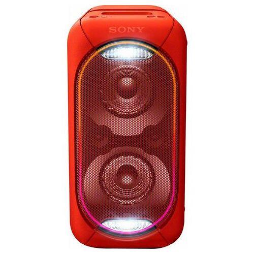 Sony GTK-XB60 compact krachtig one box-geluidssysteem  - 255.05 - rood