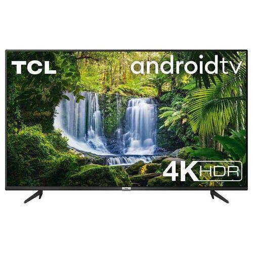 "TCL led-TV 55P616X1 55P616, 139 cm / 55 "", 4K Ultra HD, Smart-TV, Android 9.0-besturingssysteem  - 466.96 - zwart"