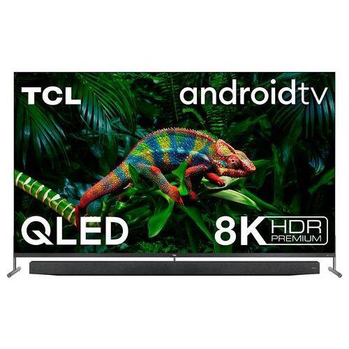 """TCL QLED-TV 75X915X1, 189 cm / 75 """", 8K, Smart-TV, met geïntegreerde, uittrekbare camera en onkyo geluidssysteem  - 5477.37 - zilver"""