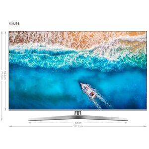 Hisense H50U7B led-tv (126 cm / 50 inch), 4K Ultra HD, smart-tv  - 519.99 - zilver