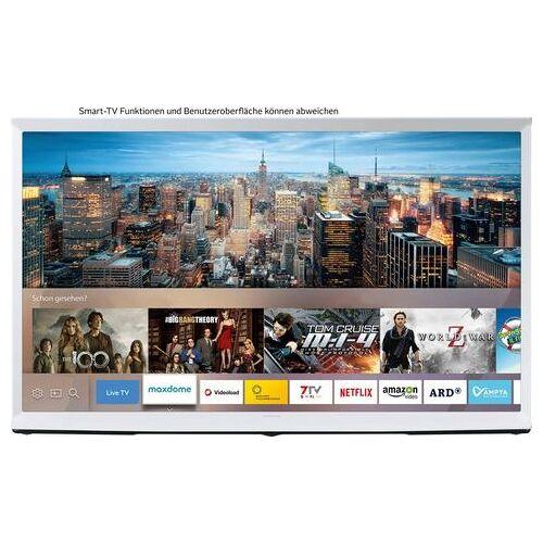 Samsung 49LS01T QLED-televisie (123 cm / (49 Inch), 4K Ultra HD, Smart-TV  - 1046.49 - wit
