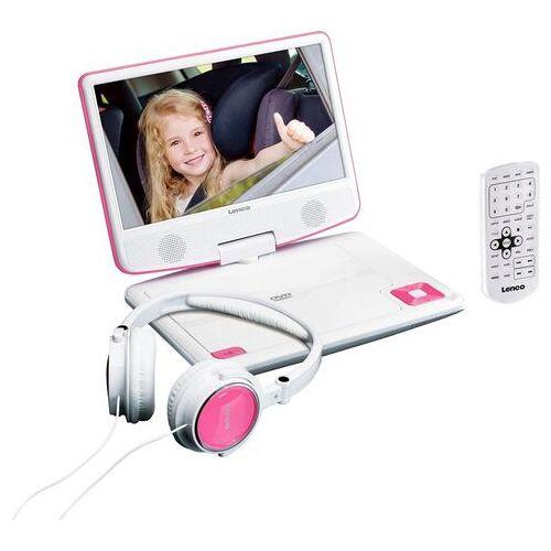 Lenco Draagbare dvd-speler »DVP-910«  - 119.69 - roze