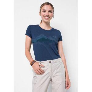 Jack Wolfskin T-shirt »CROSSTRAIL GRAPHIC T W«  - 34.99 - blauw - Size: Extra Small