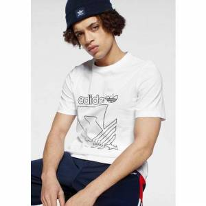 adidas Originals T-shirt »SPORT 3 STRIPES TEE«  - 19.91 - wit - Size: Extra Small