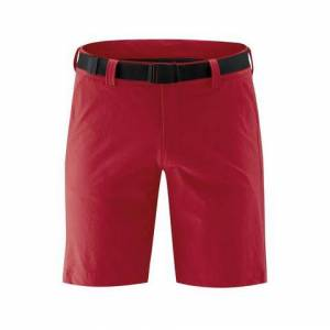 Maier Sports NU 20% KORTING: Maier Sports functionele short »Nil Short M«  - 69.95 - rood - Size: 46;48;54;60