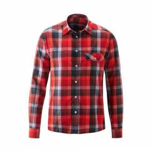 Maier Sports NU 20% KORTING: Maier Sports functioneel overhemd »Lorensis L/S«  - 59.95 - rood - Size: 46;48;50;52;54;56