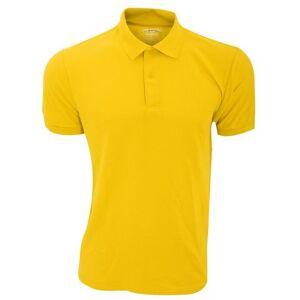 GILDAN poloshirt »Herren DryBlend Sport Double Pique Polo Shirt«  - 10.78 - geel - Size: Small