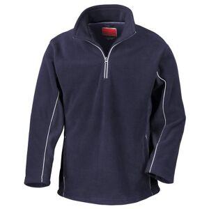Result fleecetrui »Tech3 Herren Sport Fleece-Pullover / Fleece-Oberteil, wasserabweisend, winddicht, Antipilling«  - 34.17 - blauw - Size: Large