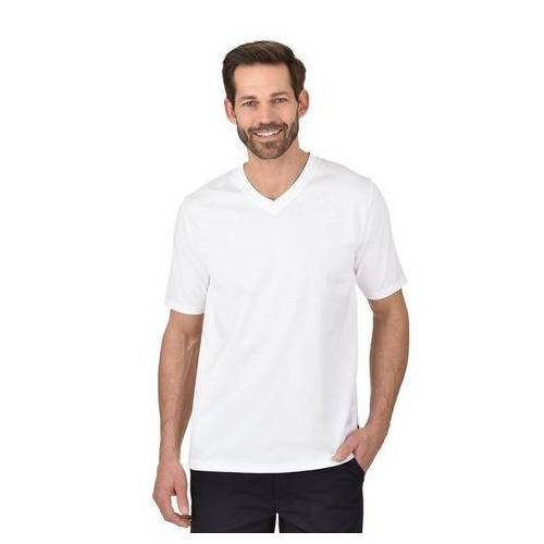 Trigema T-shirt »stevige en gemakkelijk te onderhouden katoen«  - 26.00 - wit - Size: Small