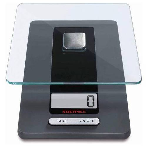 Soehnle digitale keukenweegschaal, »Fiesta«  - 24.99 - zwart - Size: 20,3 x 11,4 cm