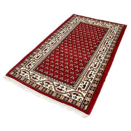 morgenland wollen kleed Mir Teppich Mino  - 43.99 - rood - Size: 40 cm x 60 cm x 8 mm