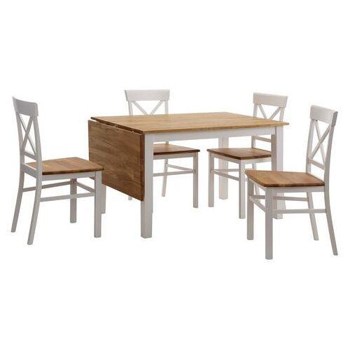 Home affaire eethoek met uitklapbare eettafel (set, 5-delig)  - 579.99 - bruin