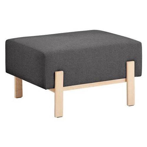 OTTO products hocker Hanne Bekleding van natuurlijke materialen: katoen en linnen  - 229.99 - grijs