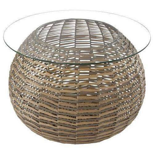 Kayoom glazen tafel  - 99.99 - bruin