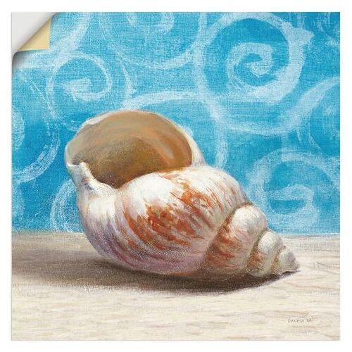 Artland artprint Cadeaus van de zee I in vele afmetingen & productsoorten -artprint op linnen, poster, muursticker / wandfolie ook geschikt voor de badkamer (1 stuk)  - 22.99 - blauw