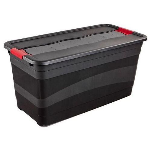 keeeper transportcontainer Eckhart met deksel  - 24.99 - zwart
