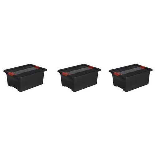 keeeper transportcontainer Eckhart 12 liter elk (set)  - 24.99 - zwart