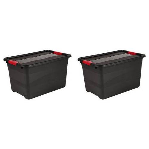keeeper transportcontainer Eckhart 52 liter elk (set)  - 29.99 - zwart