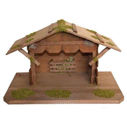 Alfred Kolbe kribbe Kerststal tot 12 cm figuren echt hout (1-delig)  - 59.99 - bruin