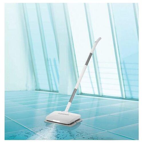 CLEANmaxx Draadloze vloerreiniger Accu-vibratiemop 11,1V wit  - 135.10 - wit